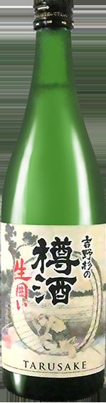 長龍酒造株式会社 長龍 吉野杉の樽酒 生囲い