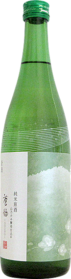 長龍酒造株式会社 蒼穂 山乃かみ酵母使用 純米酒