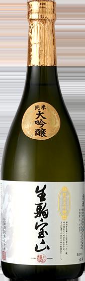 上田酒造株式会社 純米大吟醸酒 嬉長 生駒宝山 純米大吟醸