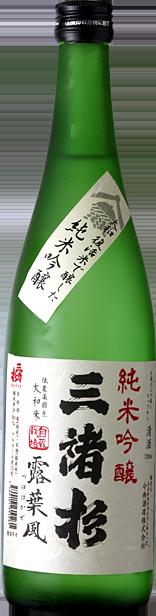 今西酒造株式会社 三諸杉 純米吟醸 露葉風